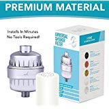 Universal Shower Filter and Water Softner - High Output Shower...