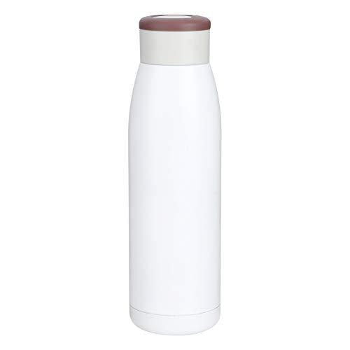Rosvola Taza de vacío Blanca, 3 Segundos de Calentamiento rápido, operación Simple, Duradera, portátil, compacta, Taza de Calentamiento rápido, para el hogar