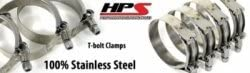 New Shipping Free HPS Stainless Steel T-Bolt Clamp 5.2