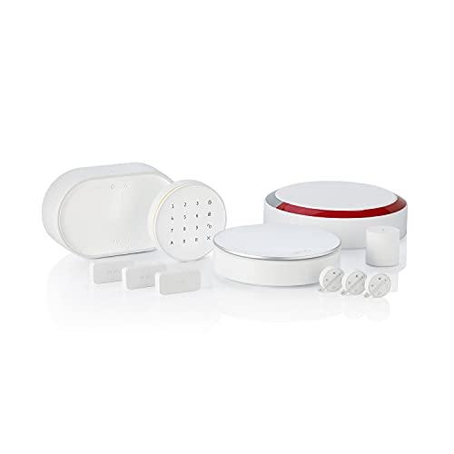 Somfy 1875255 - Home Alarm Advanced Plus | Alarme maison sans fil connectée avec sirène extérieure | Somfy Protect | Module GSM | Compatible avec Amazon Alexa, l'Assistant Google et TaHoma
