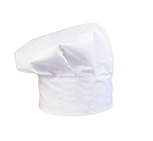 Kochmütze, verstellbar, Klettverschluss, Baumwolle, für Zuhause, Hotel, Restaurant, Geschenk