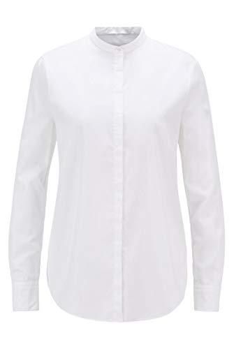 BOSS C_Befelize_18 10229074 01 Blusa, White100, 40 para Mujer