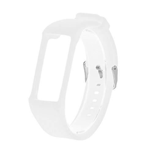 für Polar A370 Smart Watch Sportuhr Armband - Quick Fit Weiches Silikon Sportarmband Uhr Band Strap Ersatzarmband Uhrenarmband für Polar A370 Smart Watch Replacement Strap Watch Band (Weiß)
