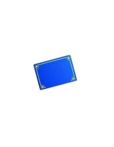 VDF Close-up Pad Tapis Classique imprimé Bleu (40 x 27,5 cm)