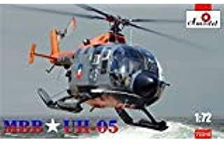 PLASTIC MODEL BUILDING MBB UH-05 HELICOPTER CHILEAN AIR FORCE 1/72 AMODEL 72316