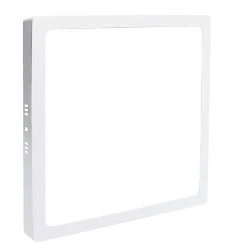 Painel Plafon Led 48w 60x60 Quadrado Sobrepor Branco Frio