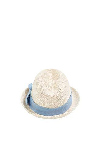 ESPRIT Accessoires Damen 040EA1P310 Panama-Hut, 285/SAND, S