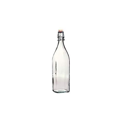 BORMIOLI ROCCO »Swing« Flasche mit Bügelverschluss, 4-Kant, Inhalt: 1,00 Liter