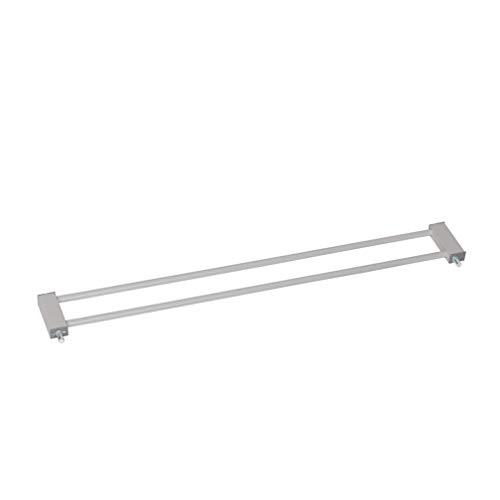 Hauck Estensione di 9 cm per Cancelletto Wood Lock, Porte e Scale 75 a 80 Cm, Utilizzabile con Estensioni di 9 cm O 21 cm, Combinabile con Adattatore Y-Spindel per Ringhiere Senza Fori, Grigio Argento