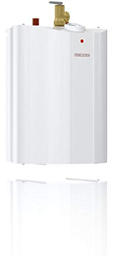 Stiebel Eltron 233219 2.5 gallon, 1300W, 120V SHC 2.5 Mini-Tank Electric Water Heater 10 Plugs into standard 120 volt outlet T and P valve included Wall-mounted with included bracket