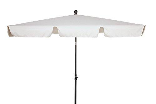 goodsun Parasol rectangulaire FL, écru 180 x 120 cm, 4 Baleines