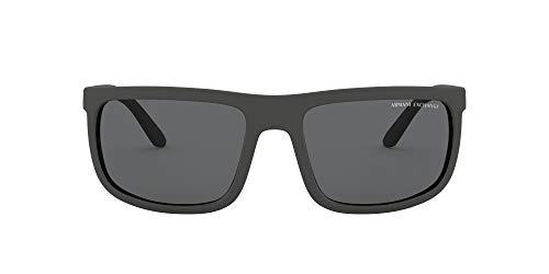 AX Armani Exchange Ax4084s - Gafas de sol rectangulares para hombre