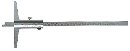 Präzisions Tiefenmessschieber 150 mm - DIN 862 - Messschieber aus rostfreiem Stahl