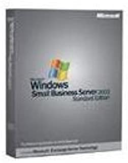 Microsoft Windows Small Business Server Standard 2003 English With Service Pack (Transition Pack 5 Client) [Old Version]