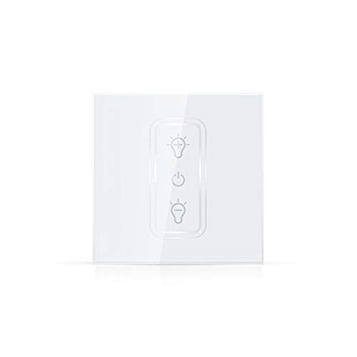 WiFi EU Dimmer Switch Stepless Dimming 2.4GHz Wifi One-key Connection Support APP Control remoto No se requiere concentrador Compatible con Alexa Google Home e IFTTT