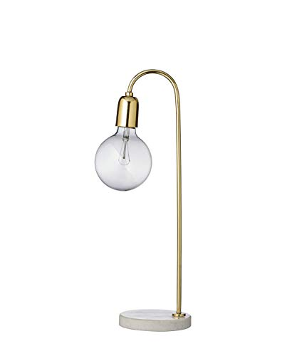 Bloomingville Lampe de table en marbre