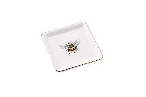 The Beekeeper Bee Ring Dish aus CGB Giftware The Beekeeeper Range - Schmuckschale - Ringschale - Andenken - Besondere Dinge - GB04474