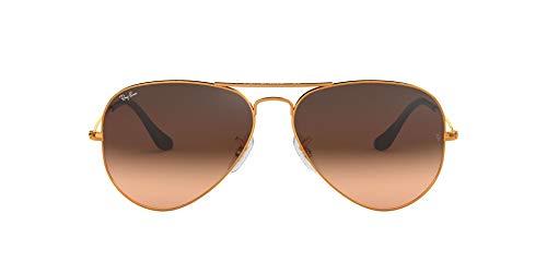 Ray-Ban Herren Rb 3025 Sonnenbrille, Braun (Cobre), 58