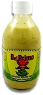 Del Primo Salsa Sauce 10.5oz Bottle (Pack of 3) Choose Flavor Below (Salsa Sabor Guacamole Sauce)