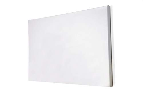 3/4' Artist Blank Stretched Cotton Canvas Primed Gesso Art Oil Acrylic Painting (24x36')