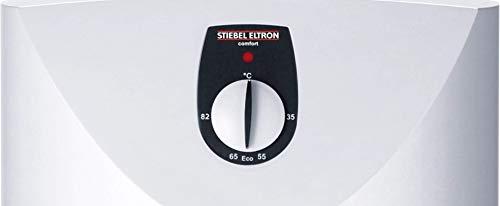 STIEBEL ELTRON druckloser Kleinspeicher SNU 10 SL, 2 kW, 10 l, Antitropf-Funktion, Thermostop-Funktion, Untertisch, stufenlose Temperaturwahl, 222197 - 4