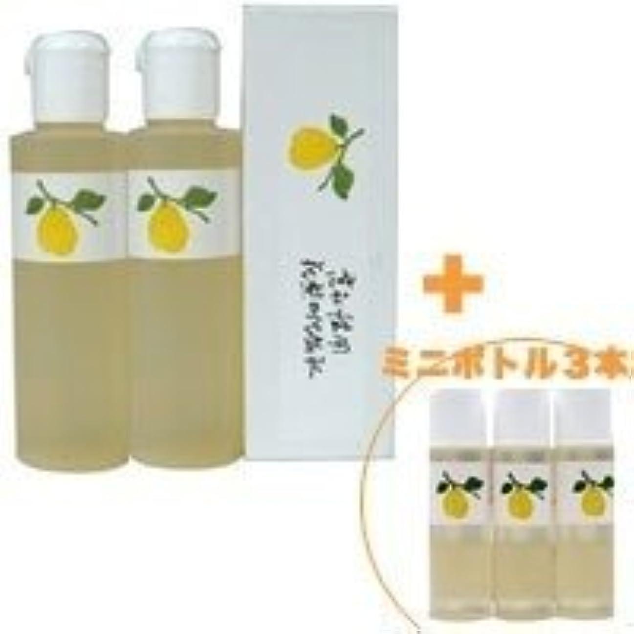 平行無視する魂花梨の化粧水 200ml 2本&ミニボトル 3本 美容液 栄養クリームのいらないお肌へ 保湿と乾燥対策に
