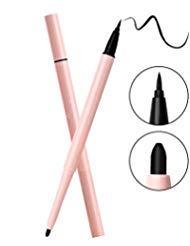 Waterproof Liquid Eyeliner, Slim Eye liner Lasting Drama Liquid Eyeliner Pen, Black Eyeliner Makeup tools (Black.)