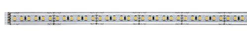 Paulmann 70676 MaxLED 1000 LED Strip 1 m LED Stripe 2.700 K Warmweiß Lichtband beschichtet Lichtstreifen 13,5W 1100 lm 144 LED 24 V