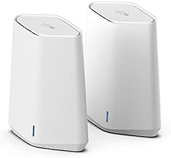 2-Pack Netgear Orbi Pro WiFi 6 Mini Mesh System with Satellite Extender