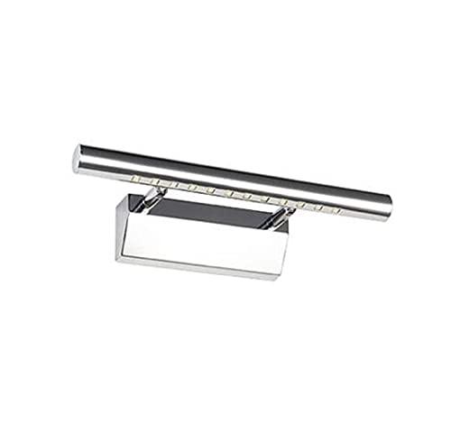 CHANGXINBH Aplique Pared Accesorios de baño Lámparas de Pared de Maquillaje de baño Moda Simple 3W 5W 7W Lámpara de Pared 30cm Espejo led luz (Color Temperature : Warm White, Lampshade Color : 3W)