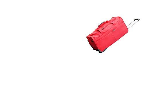 Axel - Bolsa de Viaje con Ruedas y asa Rojo Rojo 66 x...