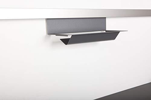 SO-TECH® Linero MosaiQ Papierrollenhalter unten Graphitschwarz