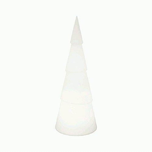 Sapin brillant 8 Seasons Design - rond, Weiß 8W