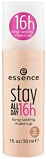 ESSENCE Stay All Day Makeup 30 Soft Sand 1's -Long Lasting Foundation ensures a Smooth and Silky Complexion All Day