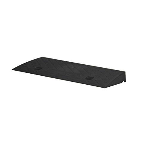 ChenB- Small Tools Zwart-rubberen mat, trolley vrachtwagen-drempeloprijplaat bar trading centrum ziekenhuis curb raamps 5-13.2 cm Slope Pad