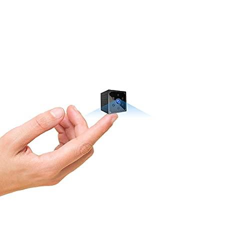 Telecamera Spia ,AOBO 4K HD Mini Telecamera Nascosta Wifi Portatile Microcamera con Visione Notturna Piccole Videocamera di Sorveglianza Senza Fili