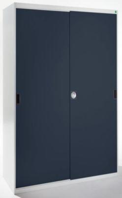 BOTT Sistema Armario, puertas correderas – BXT 1300 x 650 mm color gris/antracita – Material Armario Armario