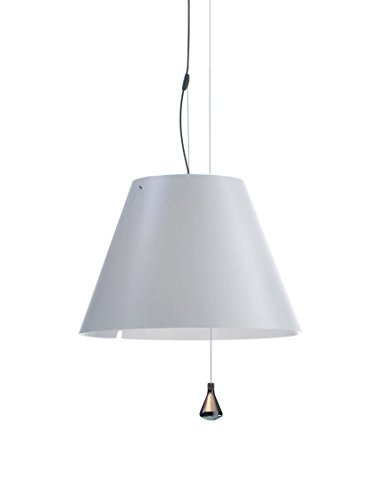 Luceplan Costanza D13 Sa.S. Bianco Lampada A Sospensione, Bianco