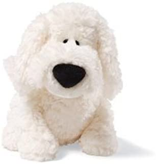 GUND Dust Mop White Dog 8