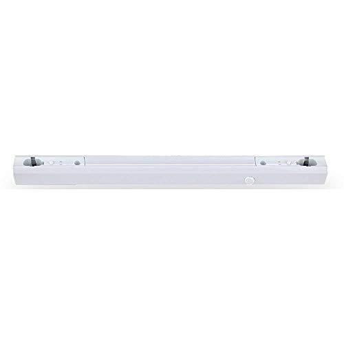 LEDmaxx Fassung Linienlampe für Osram Linestra Ralina 60W S14s zwei Sockel weiß, Kunststoff, 60 W, 50 x 3.4 x 3.6 cm
