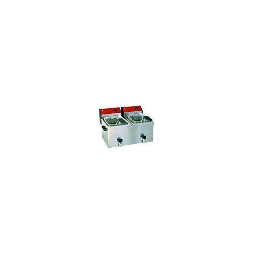 Friggitrice di bancone 2x 8L da tavolo–Modello Super bar-cuve fixe-électrique