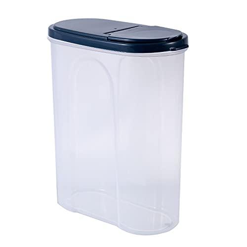 LZYMLG Contenedores de almacenamiento de alimentos de cocina con tapas herméticas, soluciones de almacenamiento de cocina, fáciles de abrir y apilables