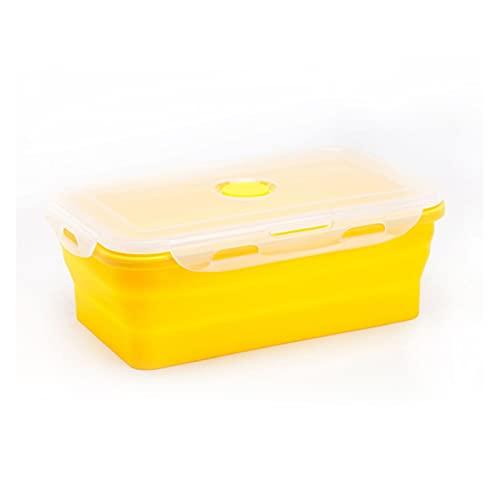 WSY Silicone Collapsble Lunch Box Portatile Storage...
