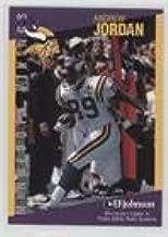 Andrew Jordan (Football Card) 1997 Minnesota Vikings Minnesota Crime Prevention Association Minnesota Crime Prevention Association - [Base] #3