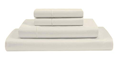 100% Certified Giza Egyptian Long Staple Cotton, [4 PCs] 18