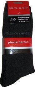 3 x 3 paires de CHAUSSETTES PIERRE CARDIN NOIRES (Taille 39-42)