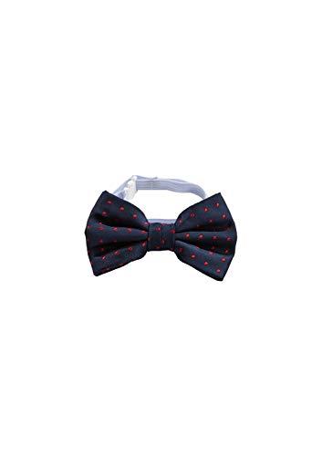 s.Oliver Jungen 64.911.91.2885 Krawatten- & Fliegen-Set, Blau (Dark Blue Aop 59b6), 1 (Herstellergröße: 1)