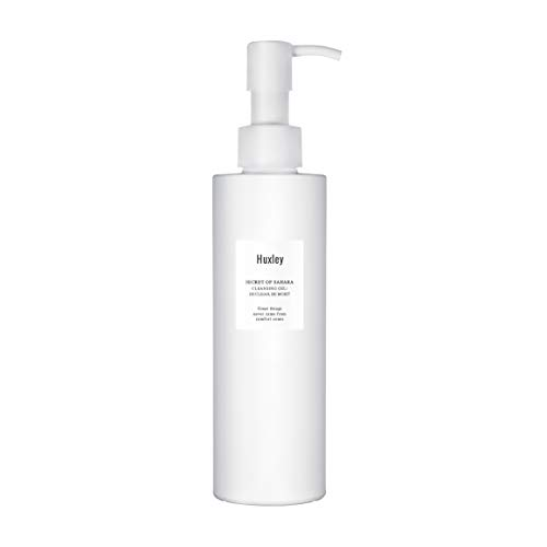 Huxley Secret of Sahara Cleansing Gel Be Clean Be Moist 6.76 fl. oz. | Korean Moisturizing Cleanser | All Skin Types