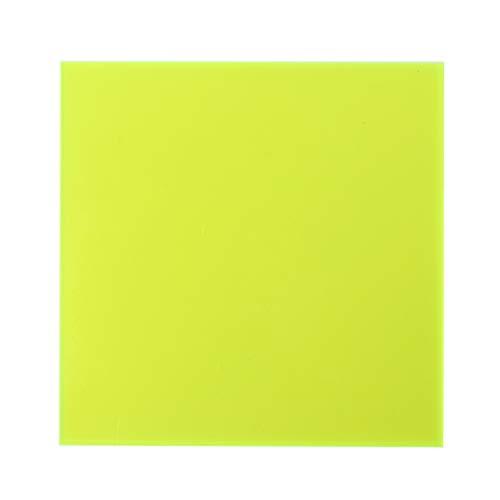 BIlinli 15 × 15cm Plexiglasplatte farbige Acrylplatte DIY Spielzeugzubehör Modellbau