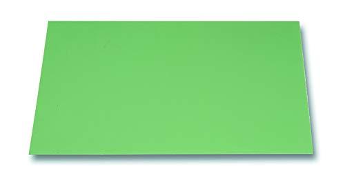 C4210021 - Piano di lavoro per la riparazione degli orologi, in plastica dura, 320 x 240 mm, colore: verde